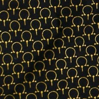 Beaufort Tie Rack Horse Bit Equestrian Black Gold Brown Silk Neck Tie