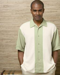 Cubavera Bedford Camp Shirt Charlie Sheen Any CLR Sz