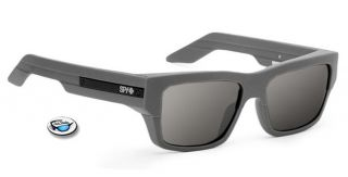 Brand New $100 SPY TICE Sunglasses   Primer Frame / Grey Lens