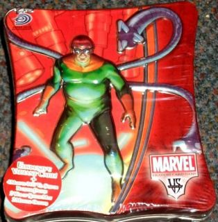 Upper Deck Marvel vs System Deluxe Trading Card Game Doc Oct Tin