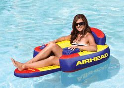 Kwik Tek Airhead Bimini Lounge II Pool Beach Lake Float