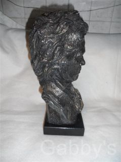 Cast Beethoven Bust Bronze Music Composer Collection Austin Prod 1961