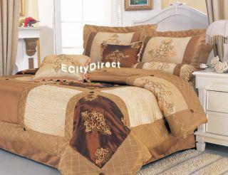7p Classy Venetian Art Bed in A Bag Comforter Set Queen
