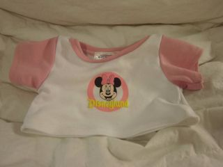 Build a Bear Workshop Bear Outfit Clothes Disneyland Minnie Mouse