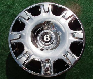 OE Factory Bentley Continental Flying Spur Chrome Wheel