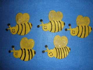 Bee Flannel Board Felt Story Set insect bug spring counting ~ Free