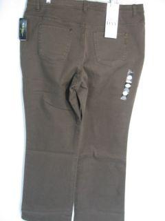 Style Co Tummy Control Jeans Pants 14W 20W Blue Beige