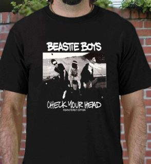 Hot Beastie Boys Check Your Head Black T Shirt All Size