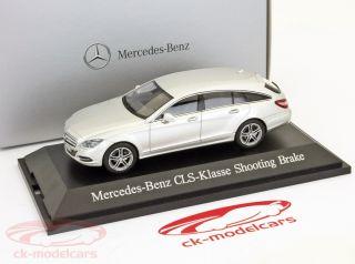 Mercedes Benz CLS Class Shooting Brake 2012 Iridium Silver 1 43 Norev