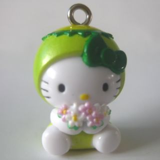 Kitty Pendant Charm with Strap Bell for Mobile Phone JW325 2cm