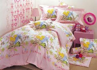 Disneys Tinkerbell Twin 4pc Bedding Set Unique Design
