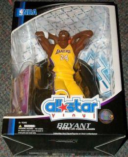 NBA All Star Vinyl Kobe Bryant Los Angeles Lakers Figure with Card
