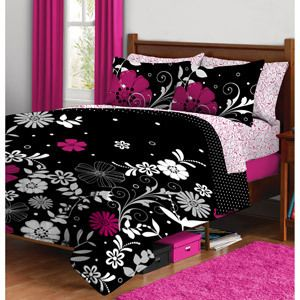 Twilight Garden Complete Bed in A Bag Bedding Set Twin XL