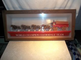 VINTAGE BUDWEISER KING OF BEERS WORLD CHAMPION CLYDESDALE TEAM PARTS