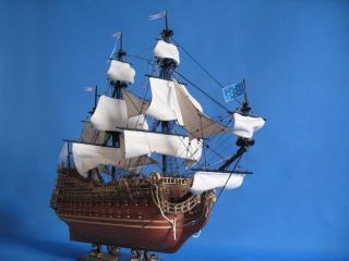 Soleil Royal Limited 32 Tall Model SHIP Wooden SHIP