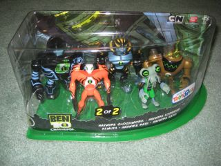 BEN 10 OMNIVERSE 5 PACK ACTION FIGURES TOYS R US EXCLUSIVE NEW