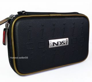 New Balck Hard Carry Pouch Case Bag For Nintendo DSi DS Lite