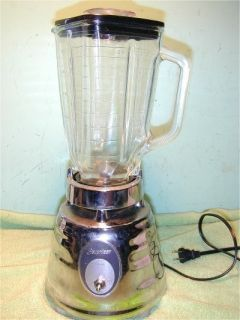 Oster Beehive Behive Blender Model 564A 5 Cup Glass Top