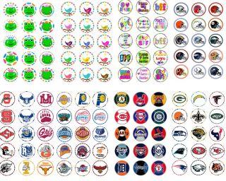 2250 Bottle Cap Images on Cd Sports Hello Kitty Monster High Etc