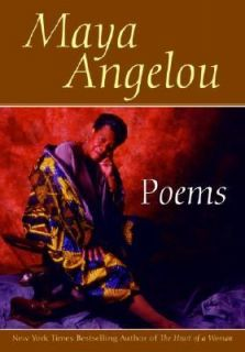 Poems Maya Angelou by Maya Angelou 1997, Paperback, Large Type