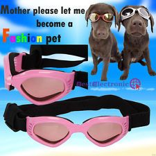 New UV Goggles Sun Glasses for Pet Dog Pink Dog Fashion Glasses