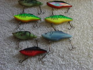 lot of berkley frenzy rattler fishing lures