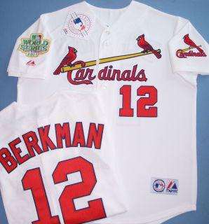 St Louis Cardinals 12 Lance Berkman Jersey