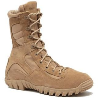 MENS BELLEVILLE DESERT TAN SABRE BOOTS (us military army tactical