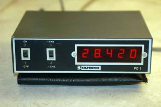 Siltronix FC 1 Frequency Counter Display Meter Ham CB
