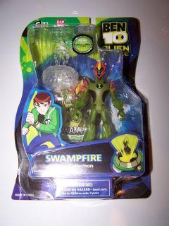 Ben 10 Swampfire Action Figure 4 Alien Force Toy
