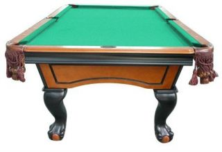 Pool Table Ball Claw Leg In Ebony Honey By Berner Billiards New