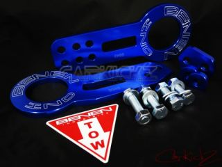 Benen Front and Rear Tow Hook Blue Honda Civic Acura Integra EG EK DC2