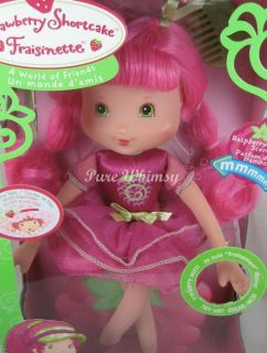 Strawberry Shortcake Berry Beautiful Raspberry Torte Soft Doll 12