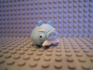 Angry Birds Space Puzzle Eraseez Eraser Frozen Mustache Pig New Blue