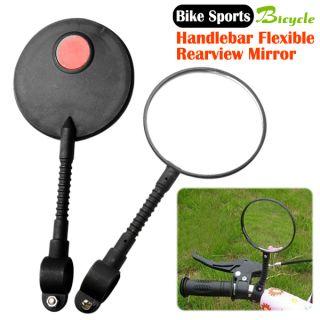 Bicycle Bike Sports Handlebar Flexible Rearview Mirror