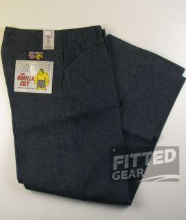 Ben Davis Loose Easy Fit Extra Full Gorilla Cut Indigo Blue Jeans