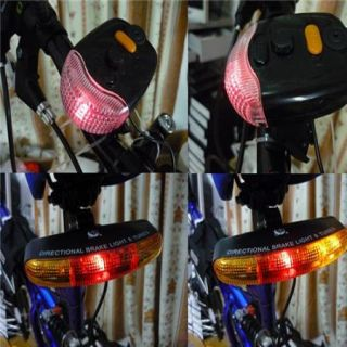 Bicycle Bike Turn Light Turn Signal Warning Light Horn