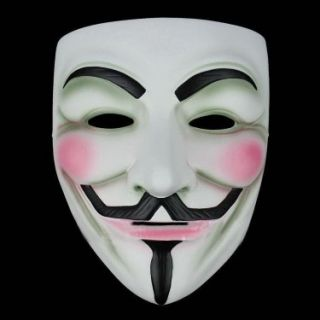 10 V for Vendetta Guy Fawkes Anonymous Face Masks Fancy Dress Party
