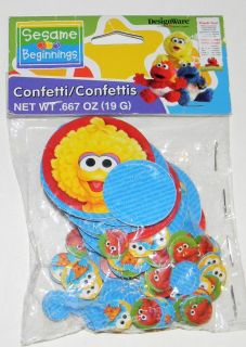 PARTY SUPPLIES* NEW* SESAME STREET Elmo Big Bird Birthday Decoration