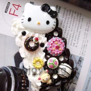 Hello Kitty Cake Cream Case 4 iPod Touch 2 2G 2nd 3 3G