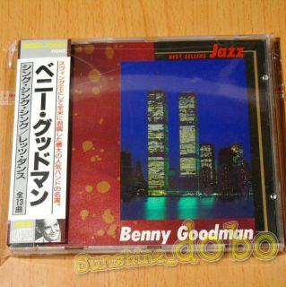 Benny Goodman Best Sellers Jazz CD Japan Import w OBI 01
