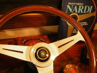Bentley T Mulsanne Turbo Nardi Wood Steering Wheel New