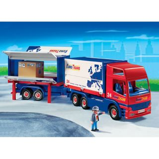 PLAYMOBIL OTRANS SEMI TRUCK Big Rig + Trailer 4323 City RC