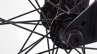 Fit 2013 Benny Lewis 3 Matte Black Red White Complete Bike BMX s M