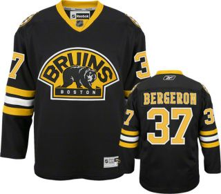 Patrice Bergeron Boston Bruins Reebok Sewn Premier Jersey