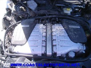 06 07 08 Bentley Flying Spur Engine Motor V12 Twin Turbo