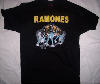 RAMONES NWT SIZE LARGE misfits metallica rob zombie rock n roll high