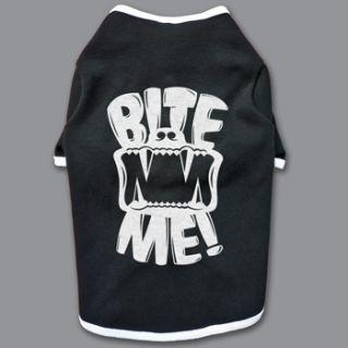 Bite Me Dog T Shirt Shirt Clothing Big Sizes XXL 5XL