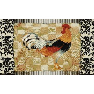 Mohawk Select New Wave Kitchen Bergerac Rooster Novelty Rug