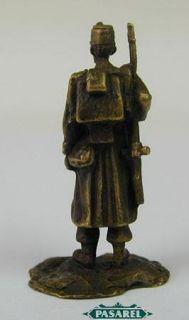 Franz Bergmann Vienna Bronze Soldier Figurine Signed